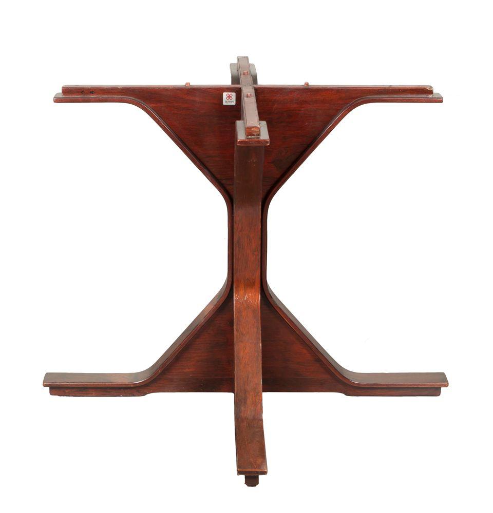 Runder vintage tisch aus palisander von gianfranco for Runder vintage tisch