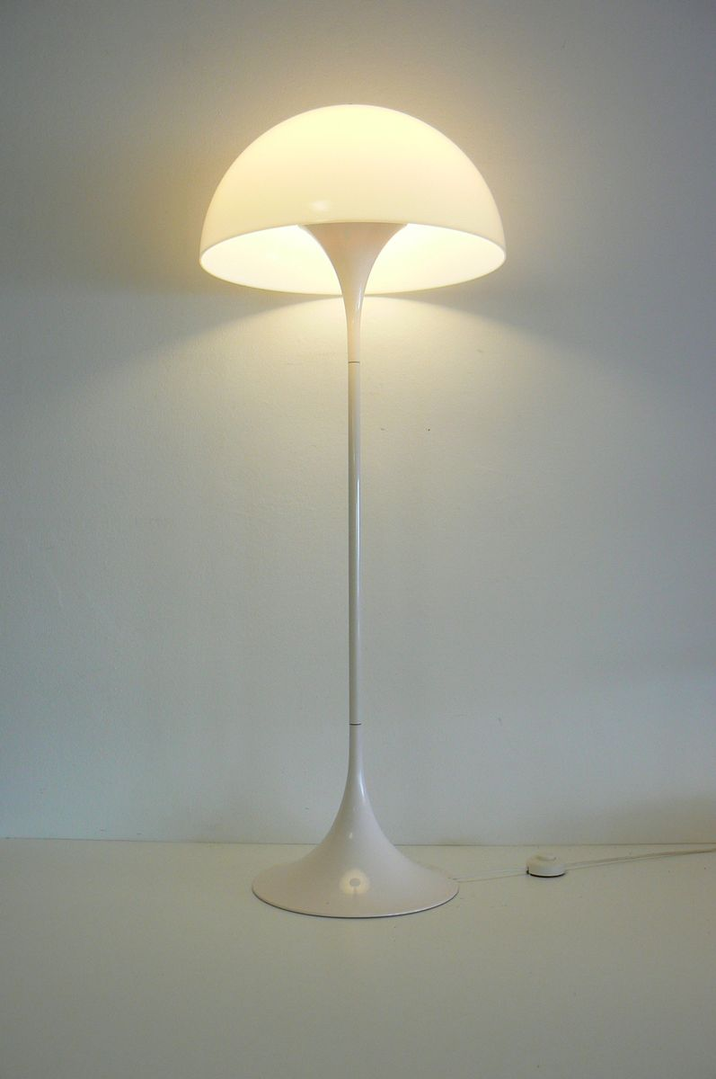 Danish panthella floor lamp by verner panton for louis poulsen 1970s for sale at pamono for 1970s floor lamps