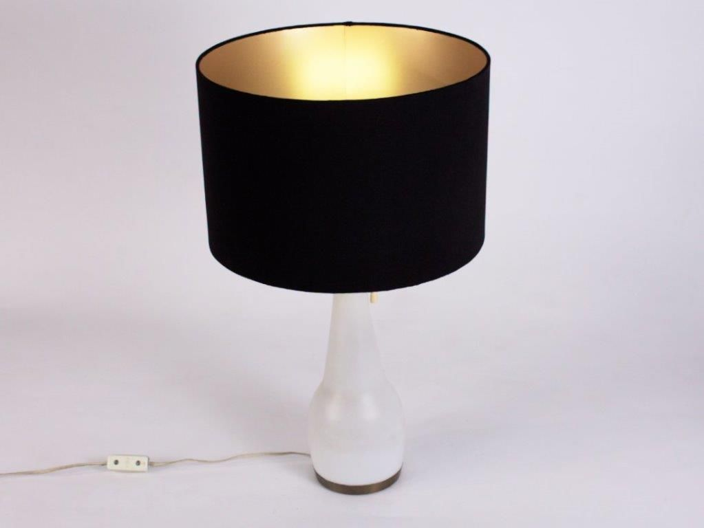 spanische tischlampe mit gestell aus glas bei pamono kaufen. Black Bedroom Furniture Sets. Home Design Ideas