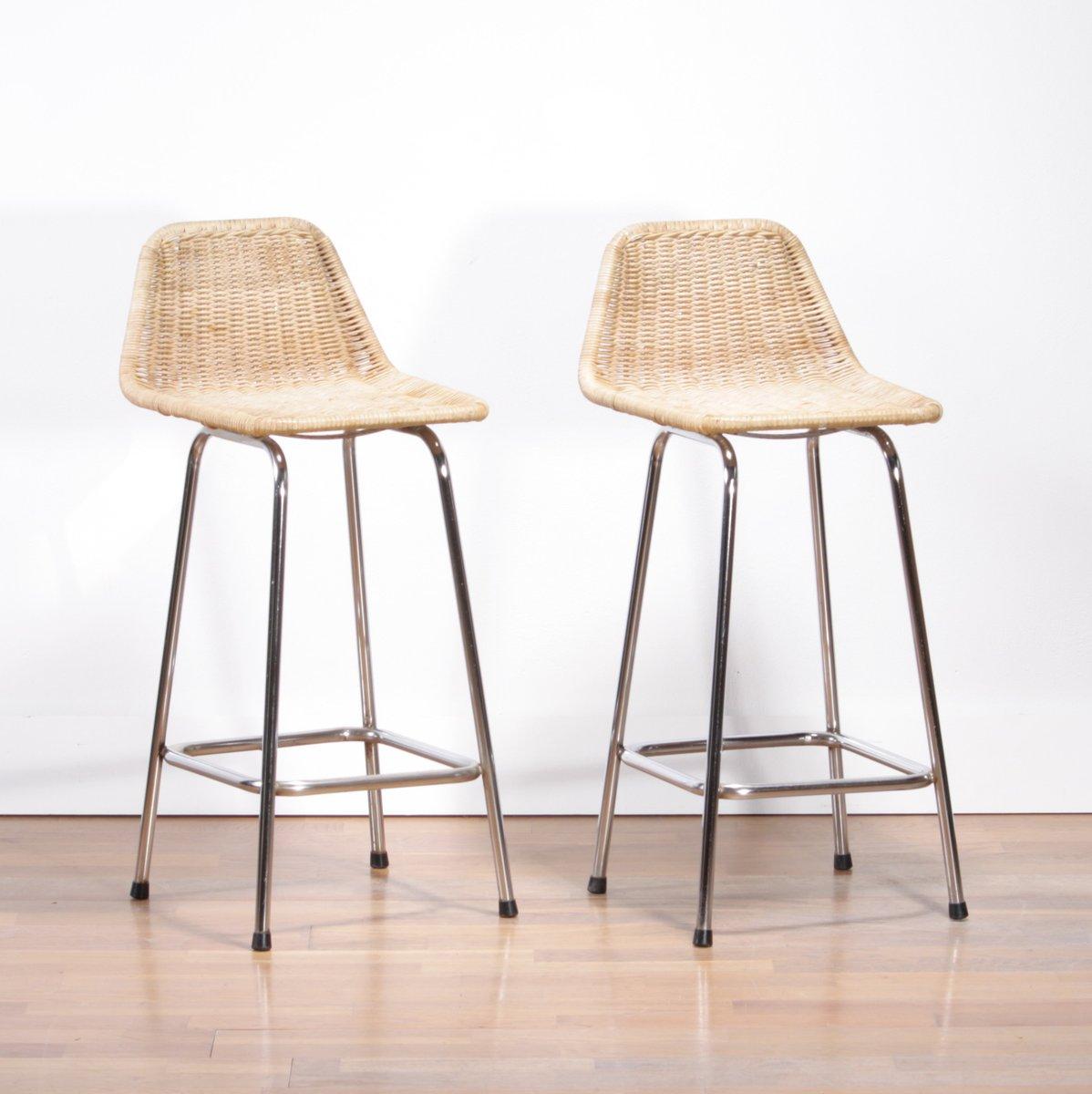 tabouret de bar rotin maison design. Black Bedroom Furniture Sets. Home Design Ideas