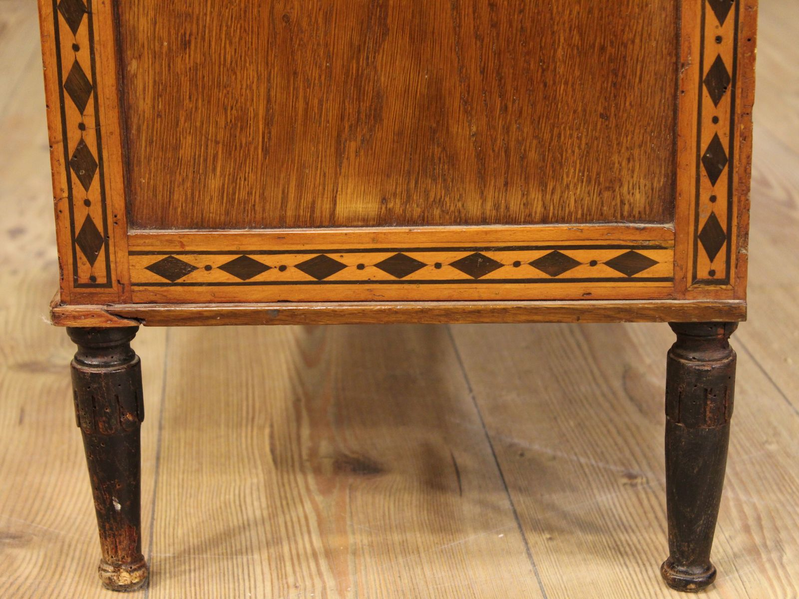 Antique commode chair - On Hold