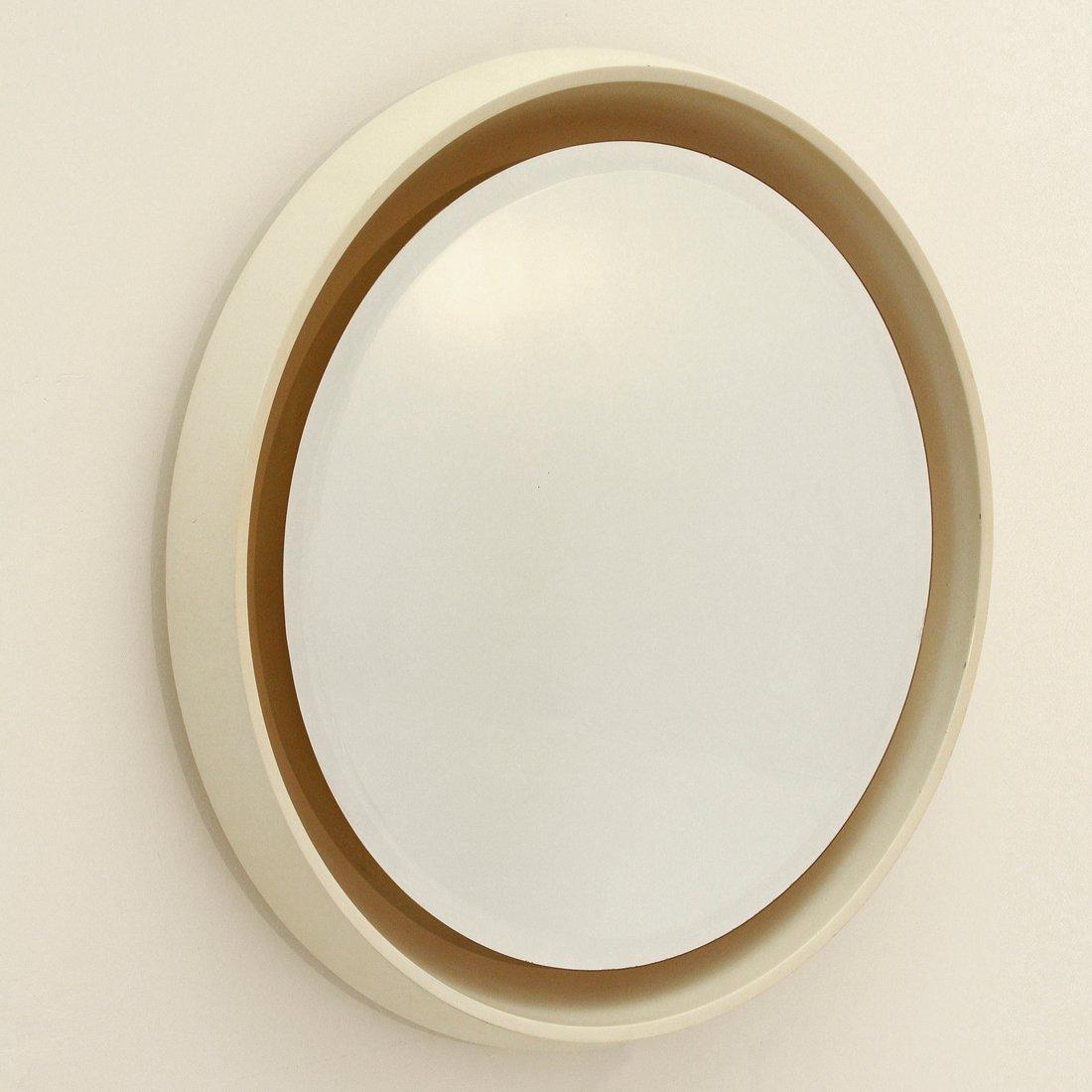 gro er beleuchteter vintage spiegel 1970er bei pamono kaufen. Black Bedroom Furniture Sets. Home Design Ideas