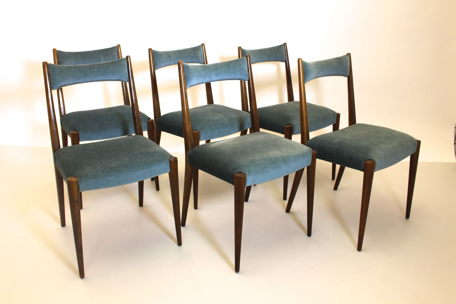 Viennese Dining Chairs by Anna Lülja Praun for Wiesner