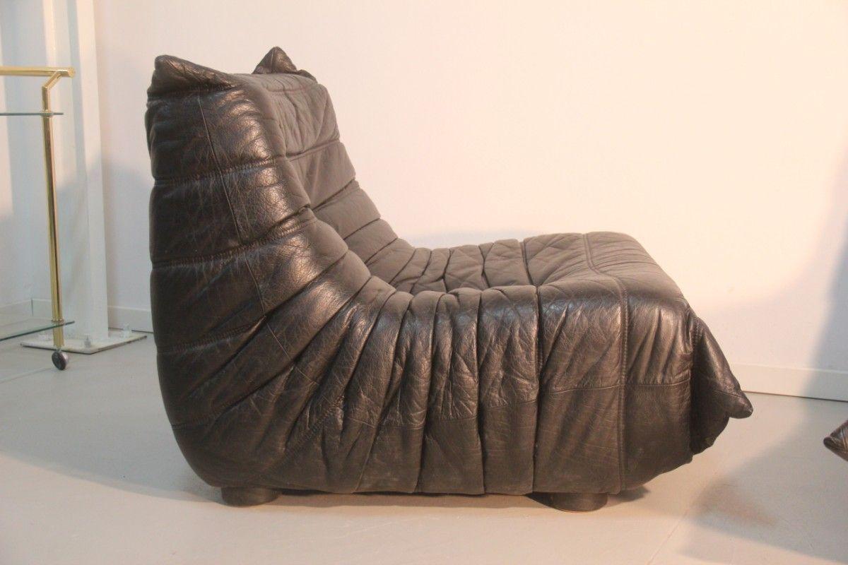 togo lounge chairs by michel ducaroy for ligne roset. Black Bedroom Furniture Sets. Home Design Ideas