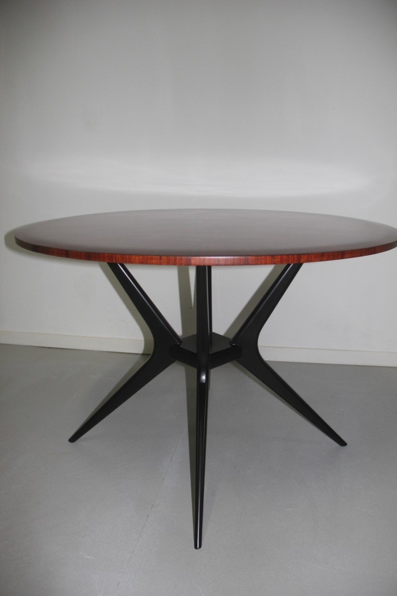 Minimalist rosewood dining table 1950s for sale at pamono - Dining tables for small spaces sale minimalist ...