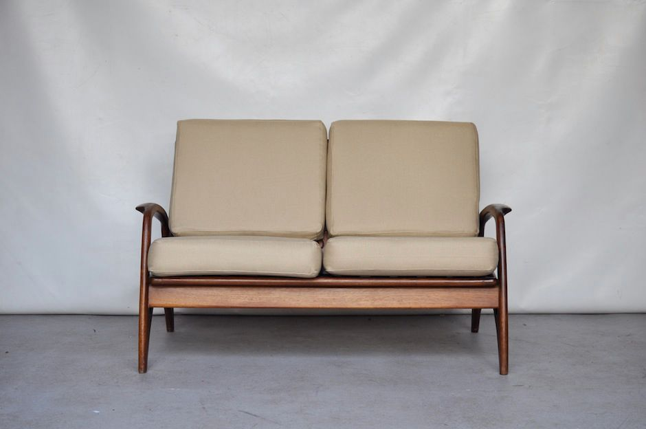 skandinavisches zwei sitzer sofa von de ster gelderland. Black Bedroom Furniture Sets. Home Design Ideas