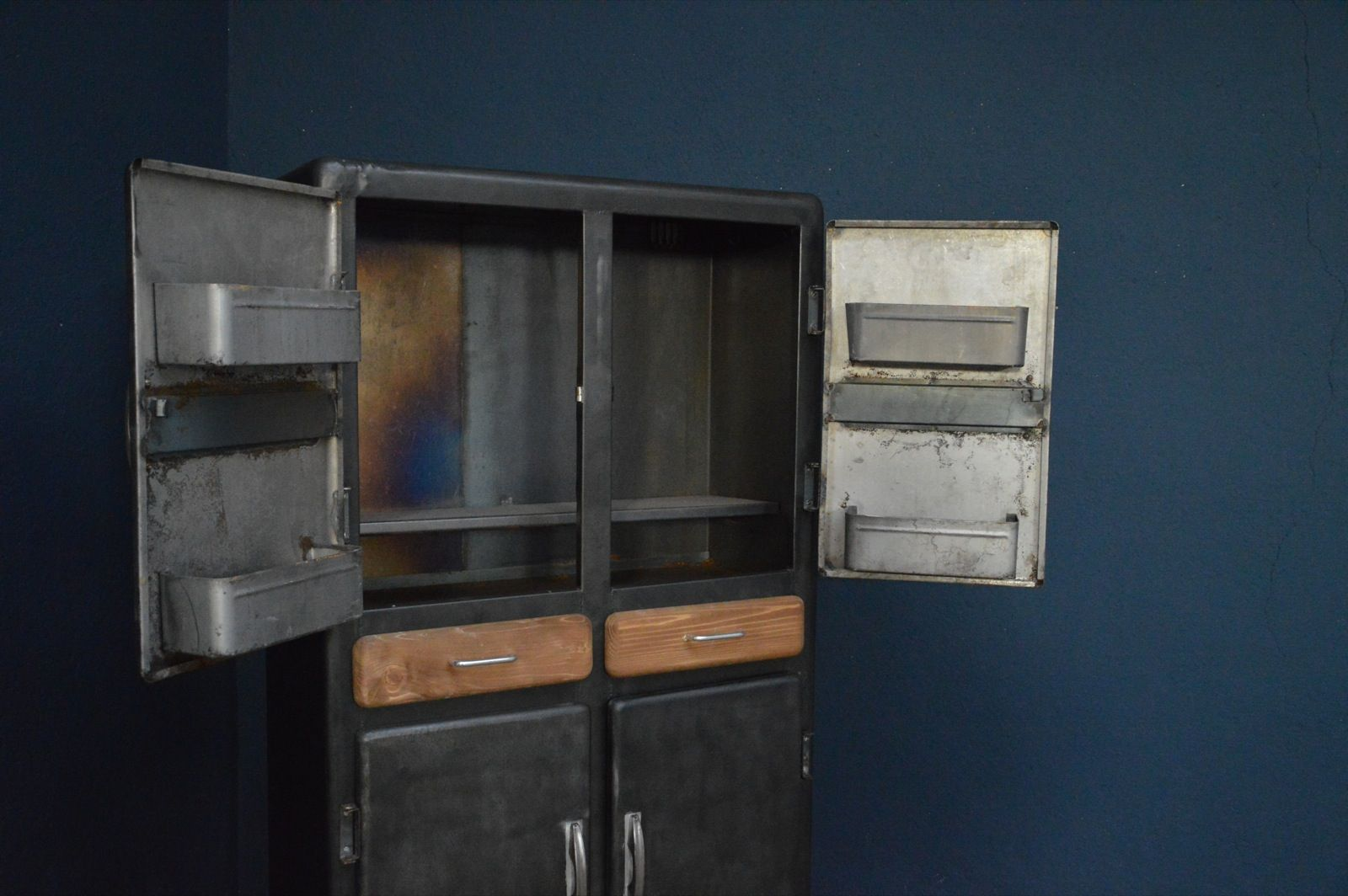 Industrial Kitchen Cabinets Vintage Industrial Kitchen Cabinet 1950s For Sale At Pamono