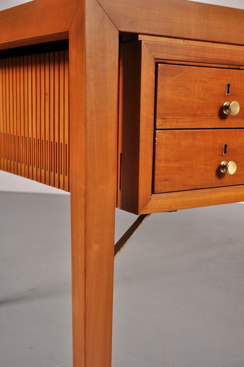 franz sischer schreibtisch mit vier schubladen aus metall. Black Bedroom Furniture Sets. Home Design Ideas