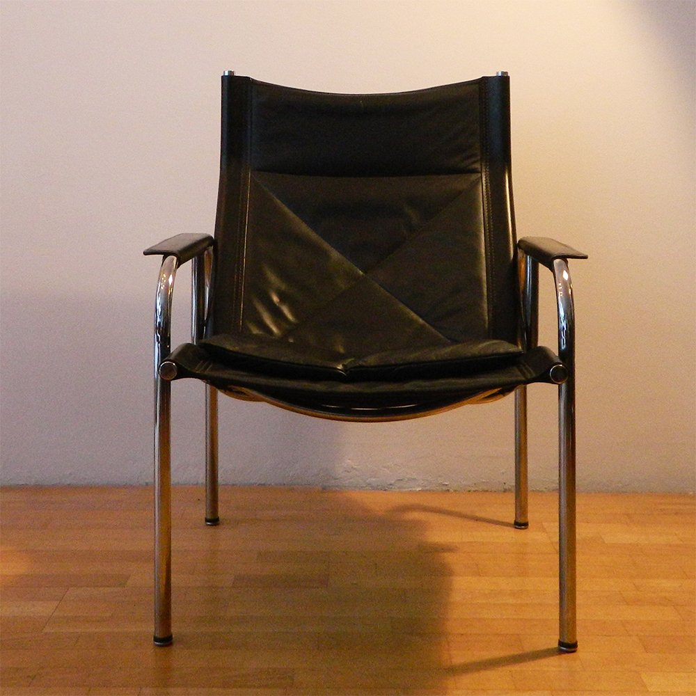 Lounge chair by hans eichenberger for str ssle 1980s for for 1980s chair