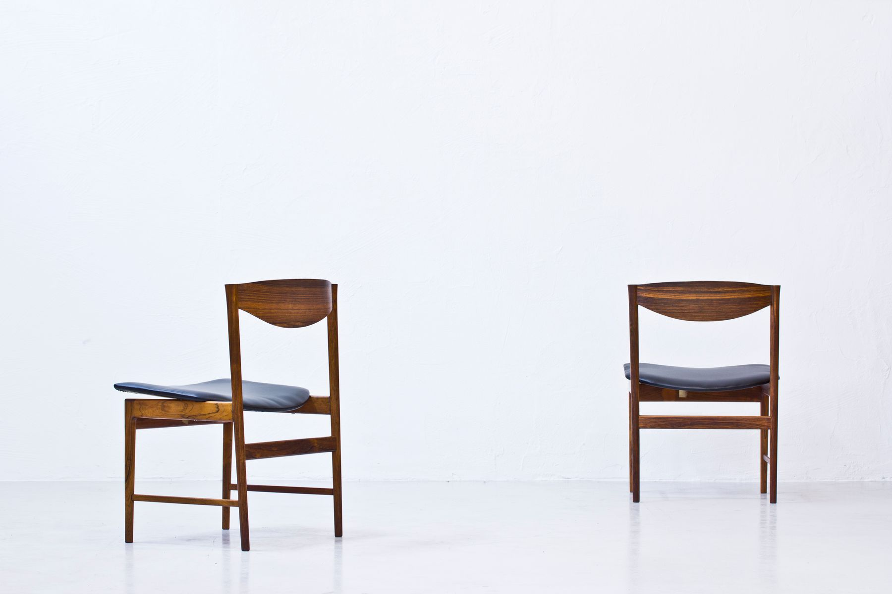 Rosewood Chairs By Ib Kofod Larsen For Seffle Möbelfabrik, Set Of 4