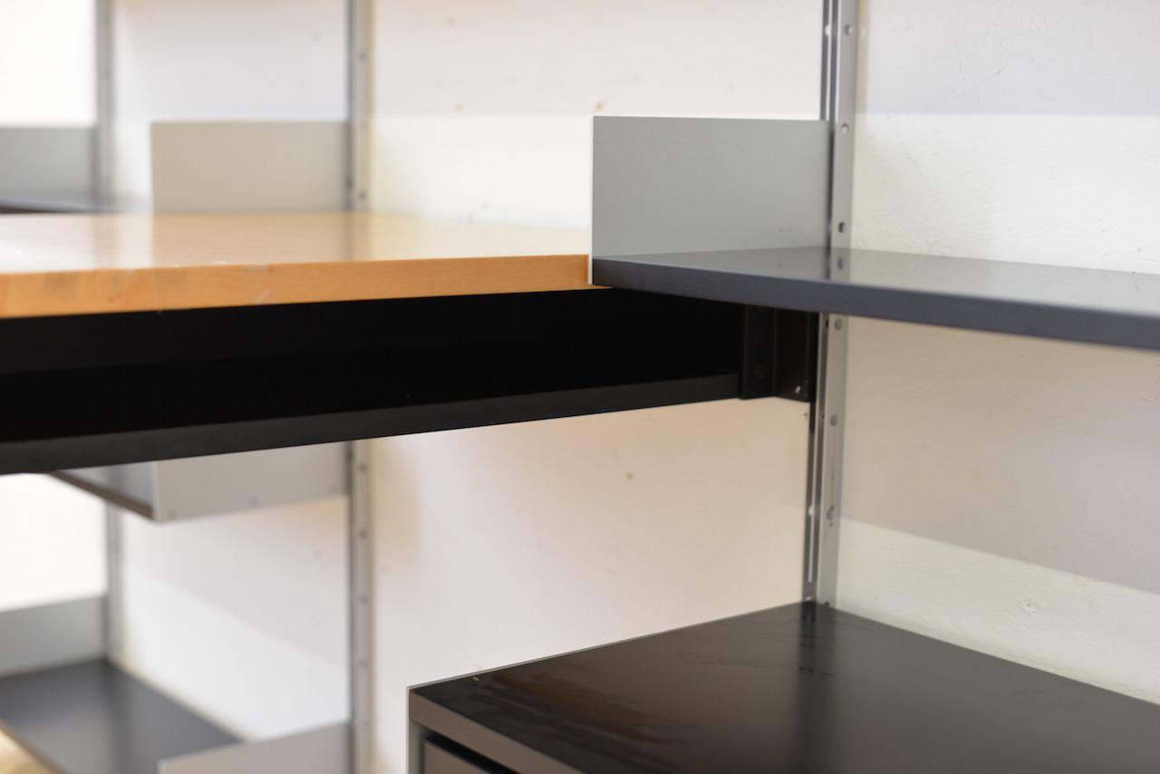 midcentury german wall unit u0026 desk by dieter rams for sdr