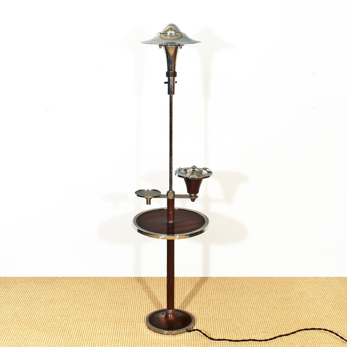 French art deco smoker 39 s floor lamp 1930s for sale at pamono for 1930s floor lamp