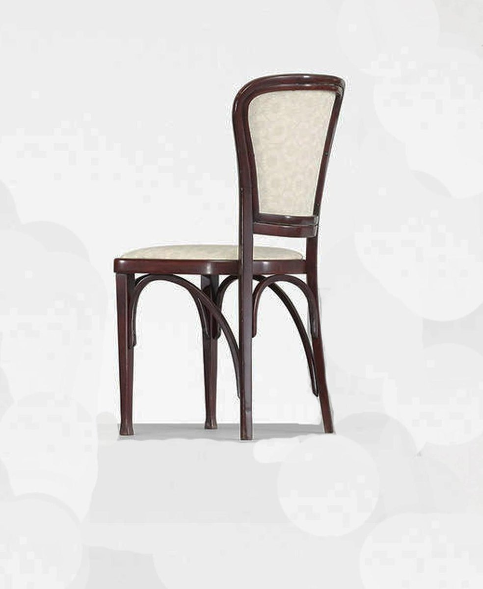 Dining chairs by gustav siegel for thonet 1910 set of 6 for Set of 6 dining chairs