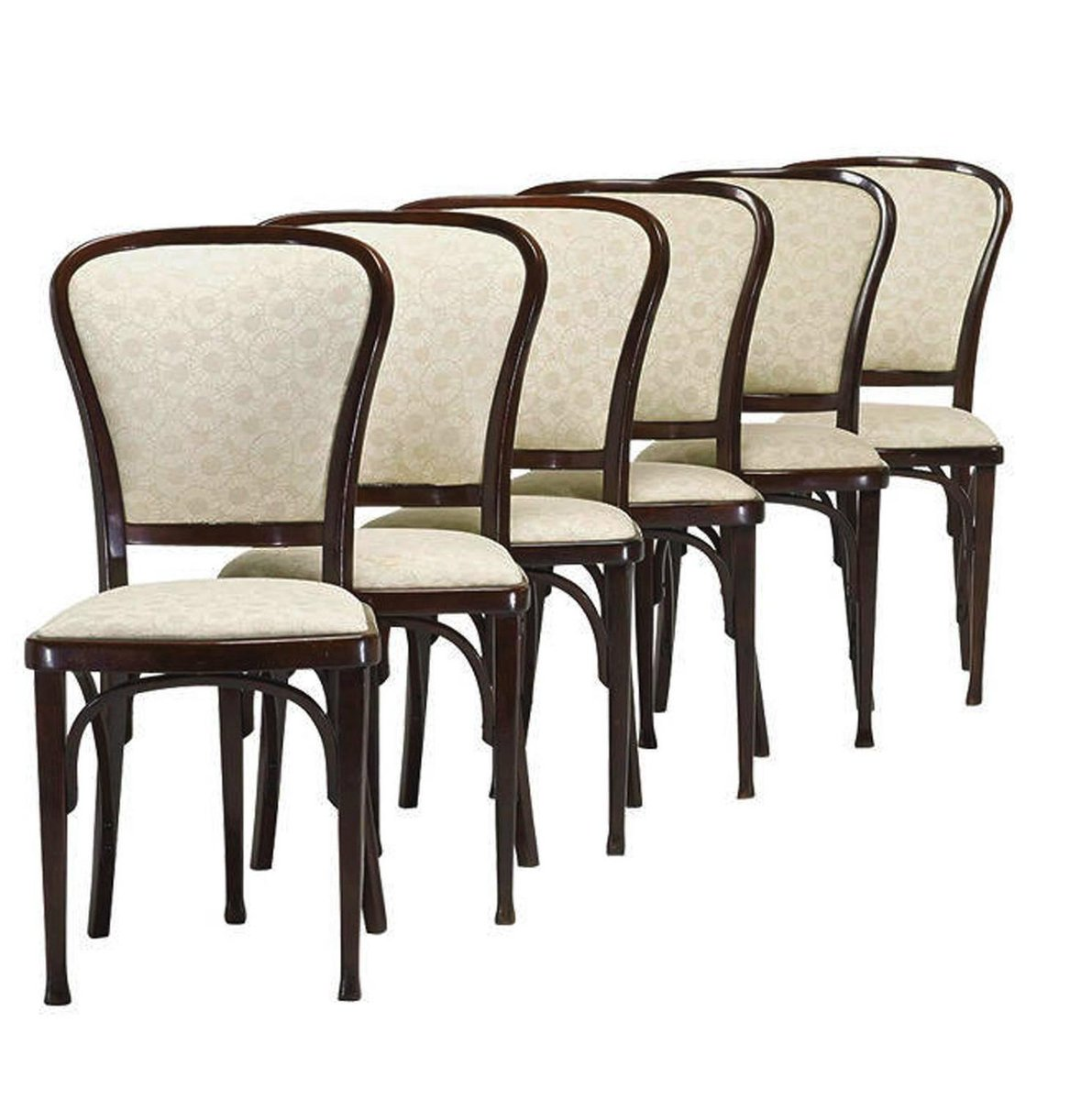 Dining Chairs by Gustav Siegel for Thonet 1910 Set of 6 for sale – Thonet Dining Chair