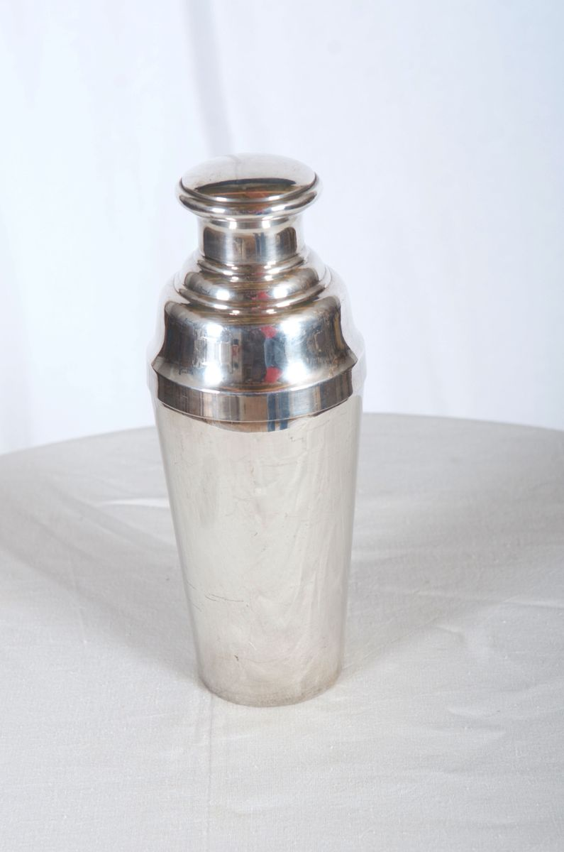 large sterling silver cocktail shaker for sale at pamono. Black Bedroom Furniture Sets. Home Design Ideas