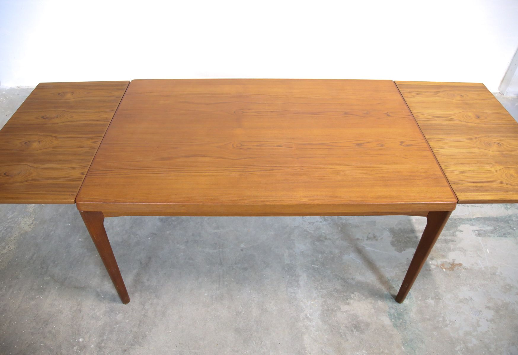 Teak Dining Table By Henning Kjaernulf For Velje For Sale At Pamono