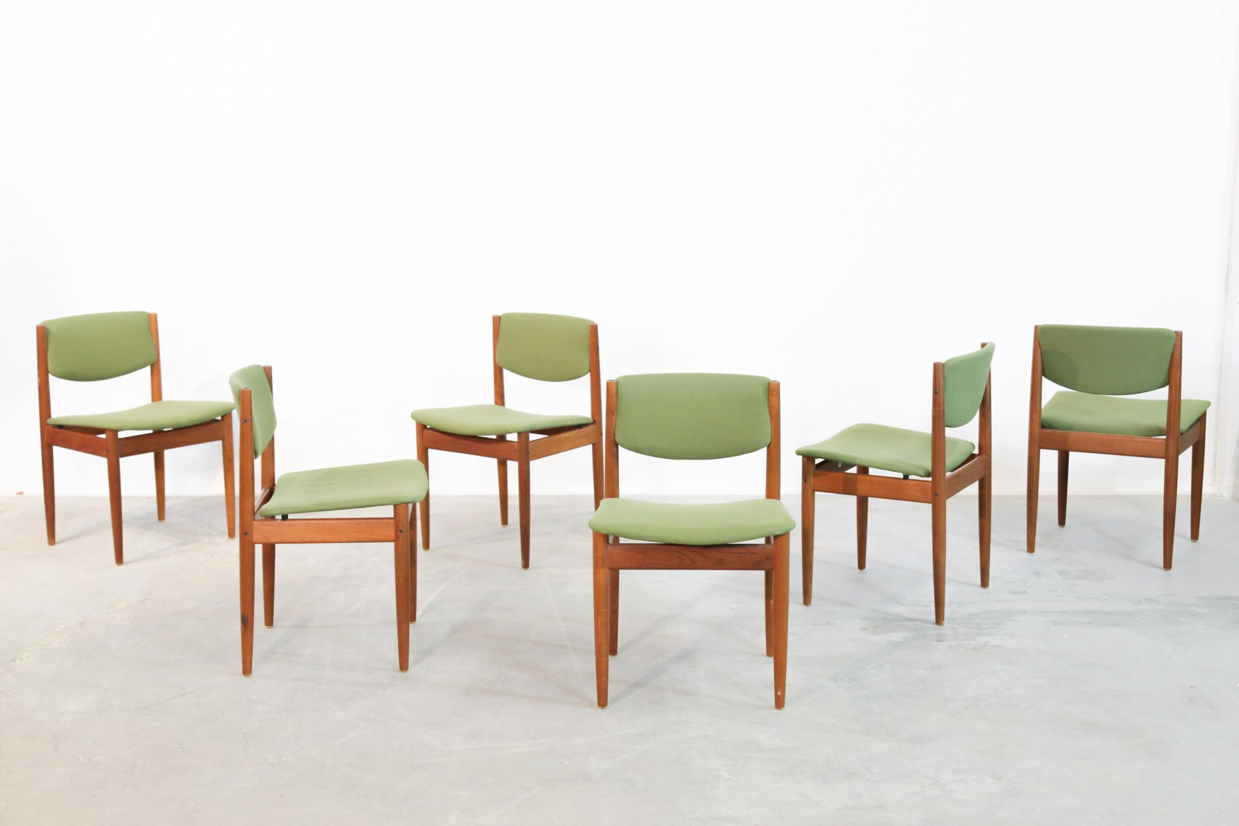 Danish Dining Chairs By Finn Juhl For France amp Sn 1960s