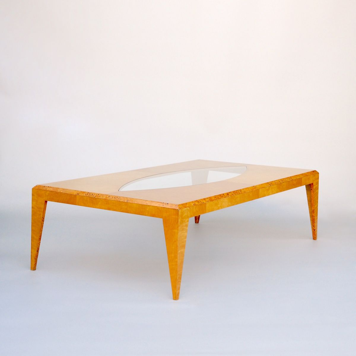 large maple coffee tableklaus wettergren for sale at pamono