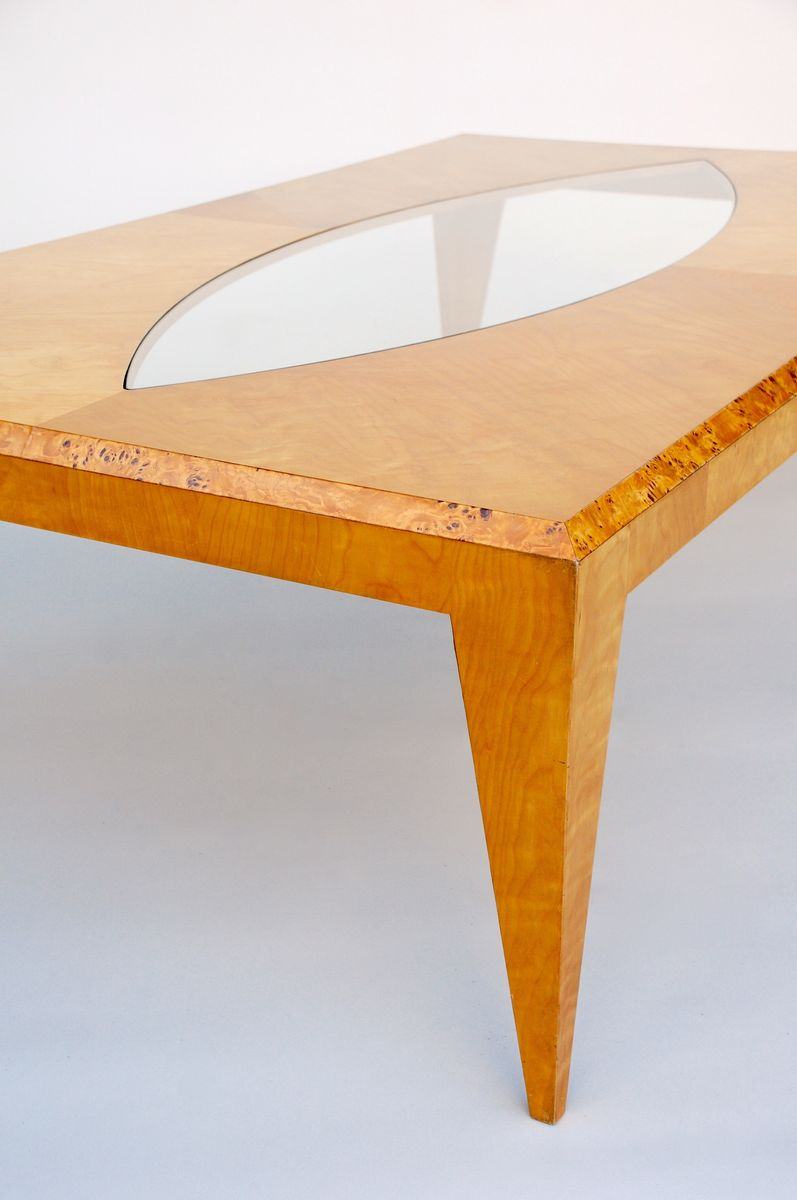Large Maple Coffee Table By Klaus Wettergren For Sale At Pamono