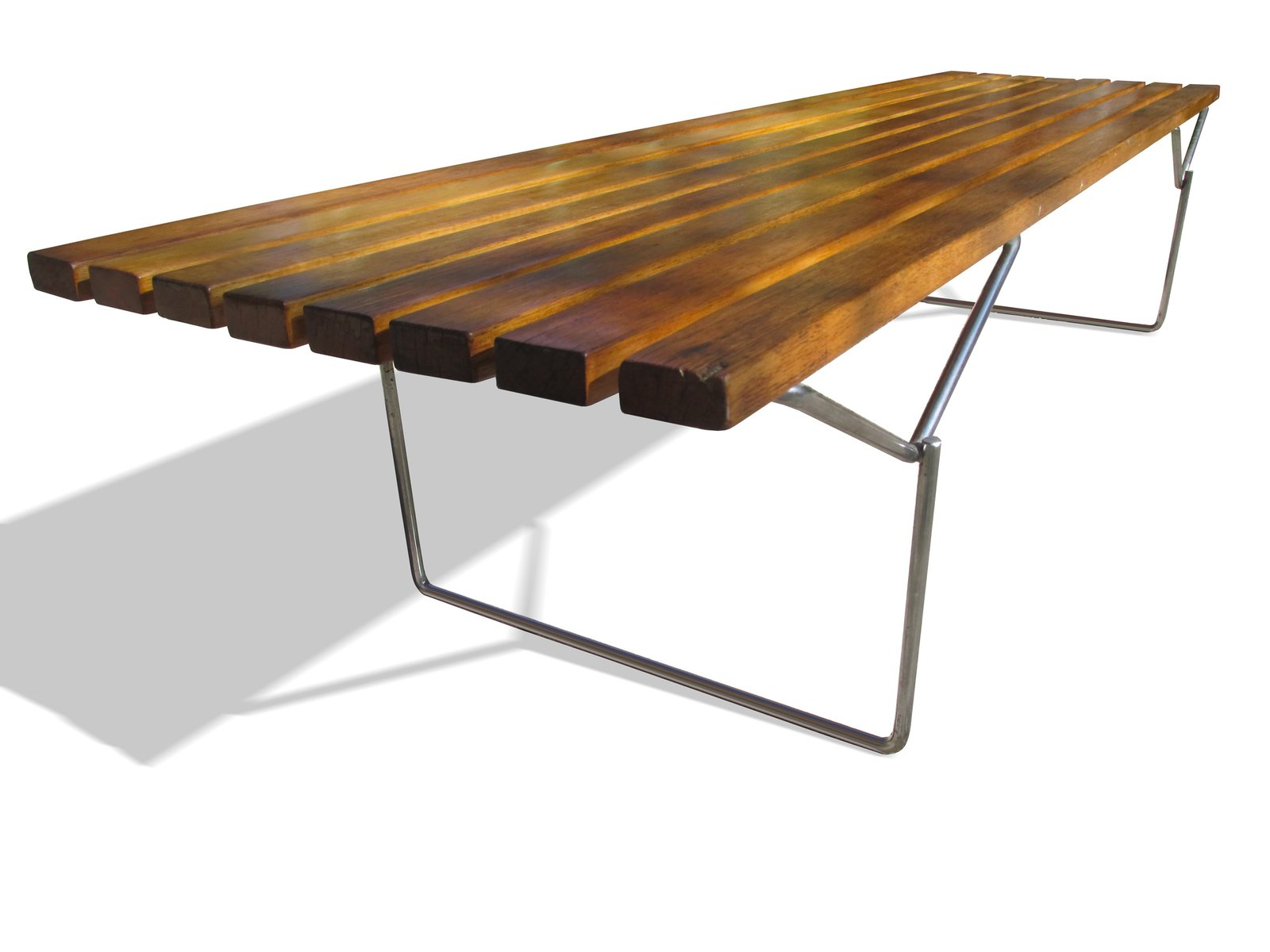 Oak Bench By Harry Bertoia For Knoll 1952 For Sale At Pamono