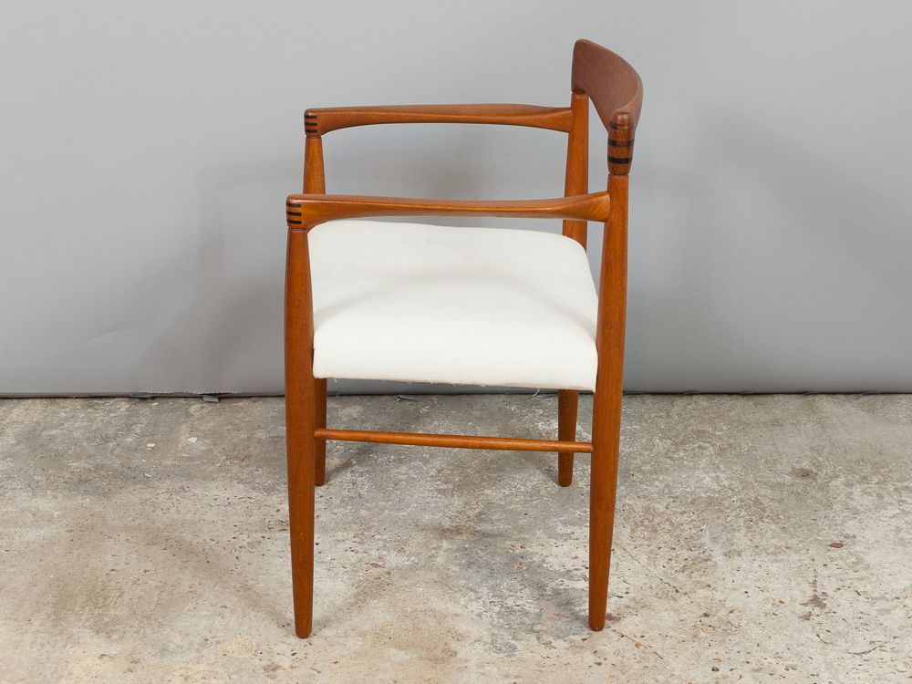 Danish Teak Rosewood Carver Dining Chair By HW Klein For - Carver dining chairs