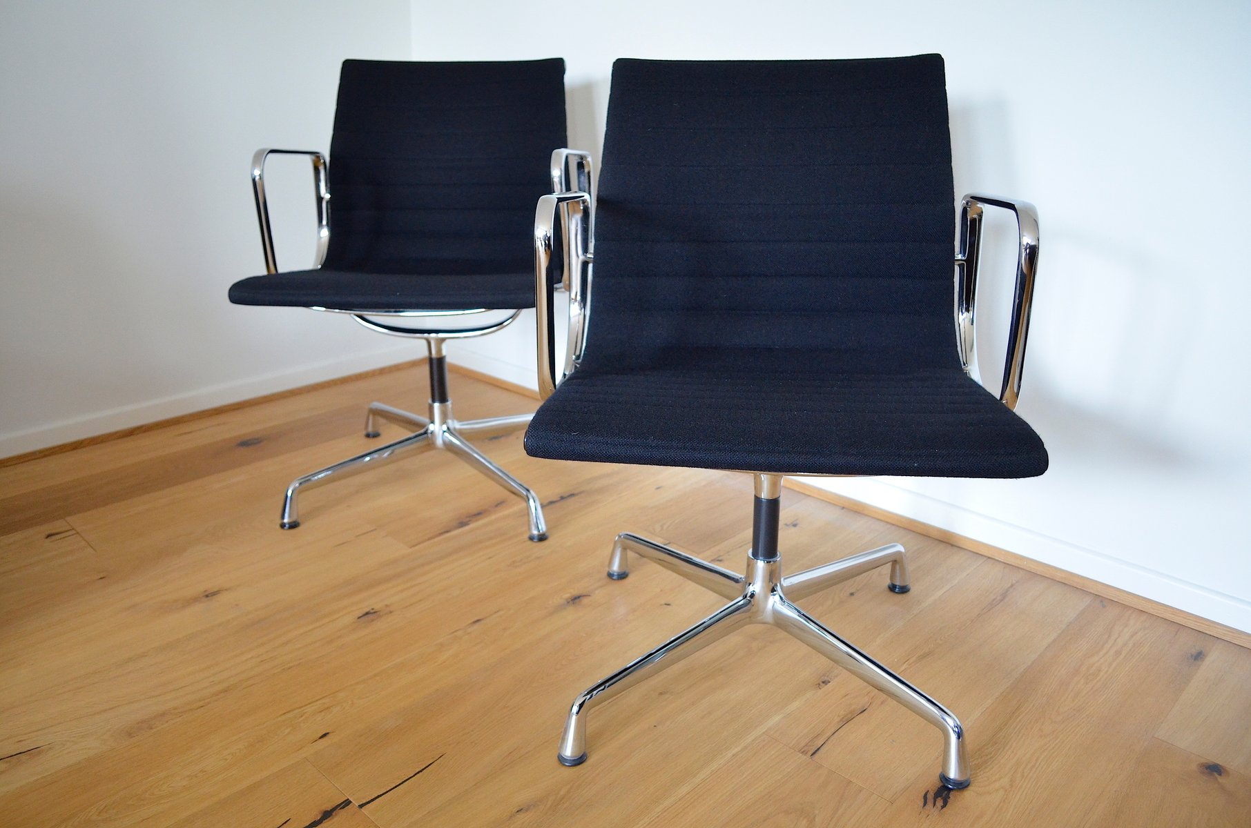 EA108 Desk Chairs by Charles & Ray Eames for Herman Miller Set of