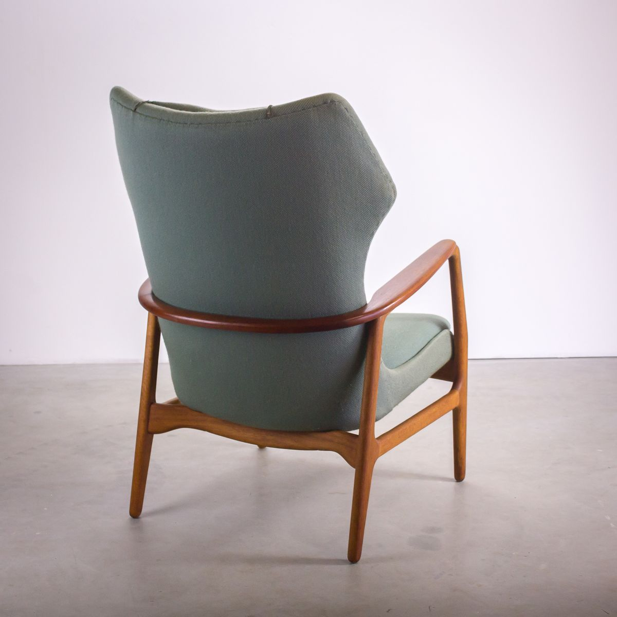 Blue Lounge Chair by Aksel Bender Madsen for Bovenkamp for sale at Pamono