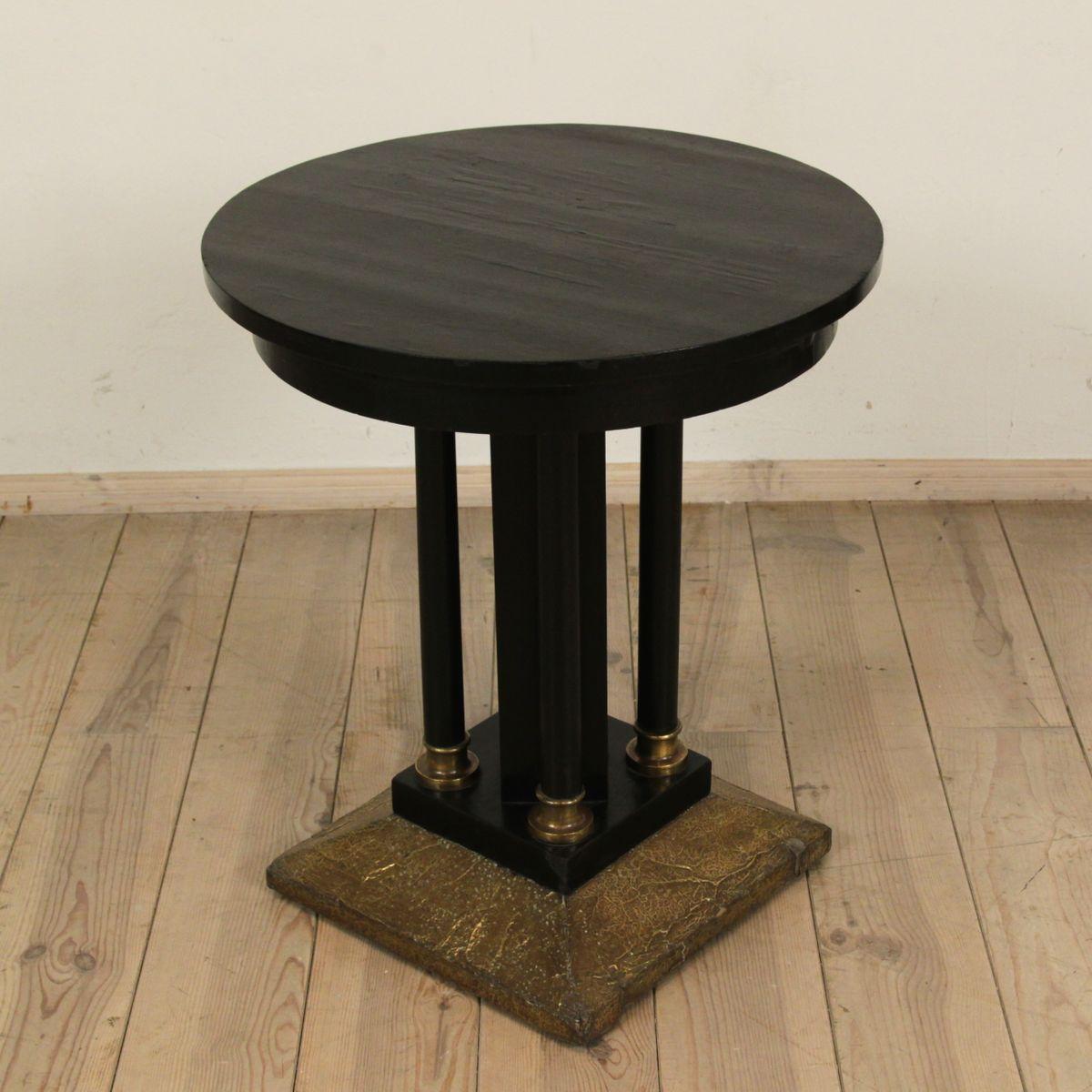 art deco tisch 1920er pamono. Black Bedroom Furniture Sets. Home Design Ideas
