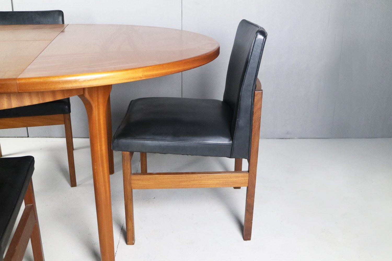 esszimmerset mit 4 d nischen st hlen und 1 tisch von. Black Bedroom Furniture Sets. Home Design Ideas