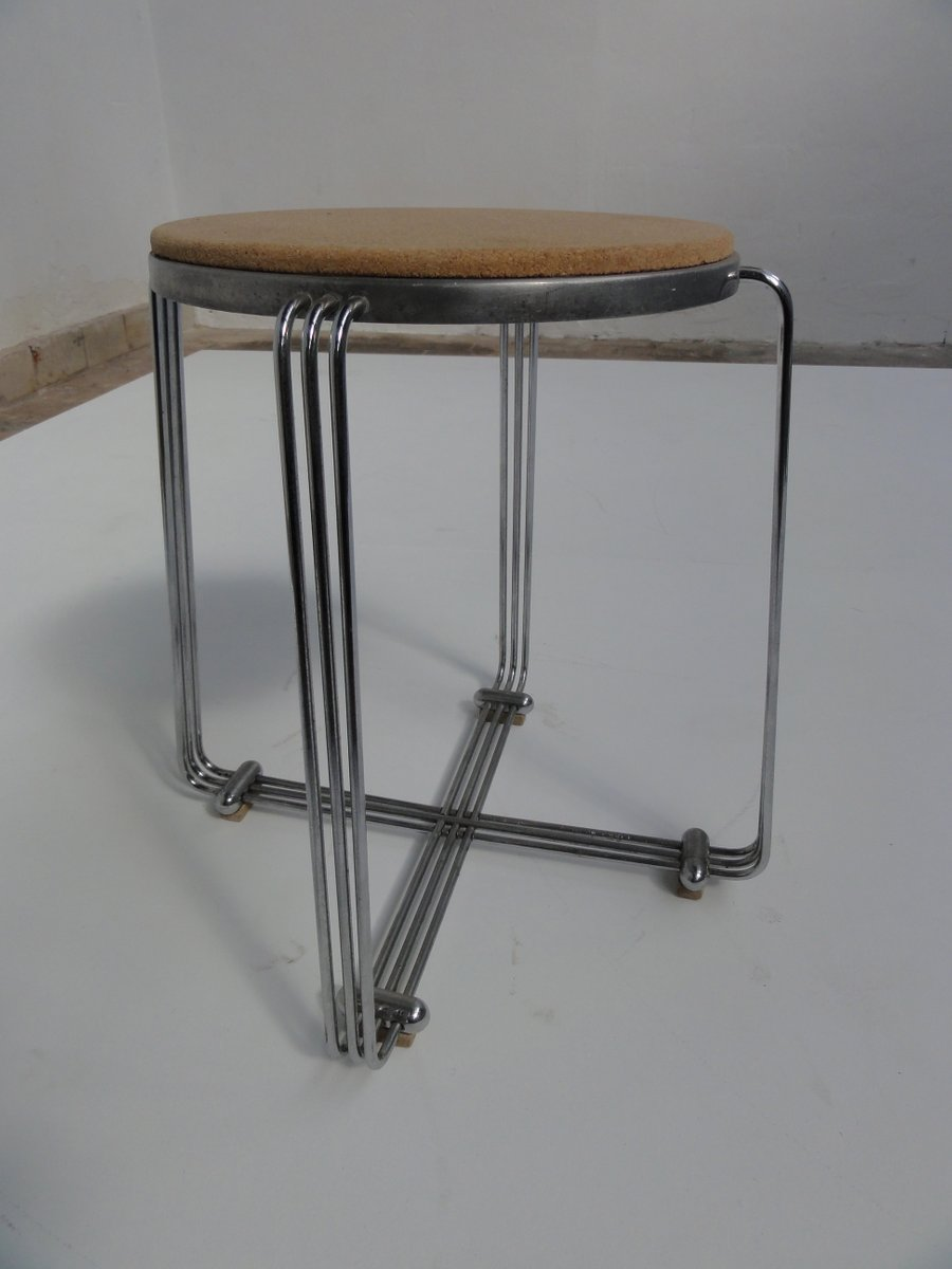 Art deco stool 1930s for sale at pamono for Miroir art deco 1930