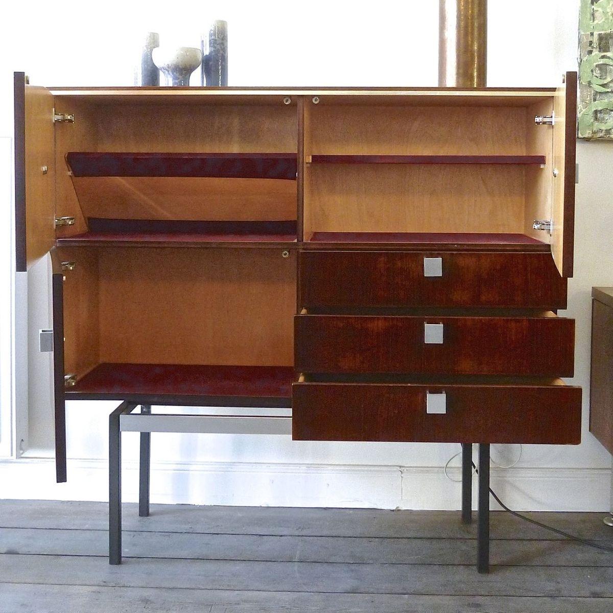 armoire en palissandre par alfred hendrickx belgique. Black Bedroom Furniture Sets. Home Design Ideas