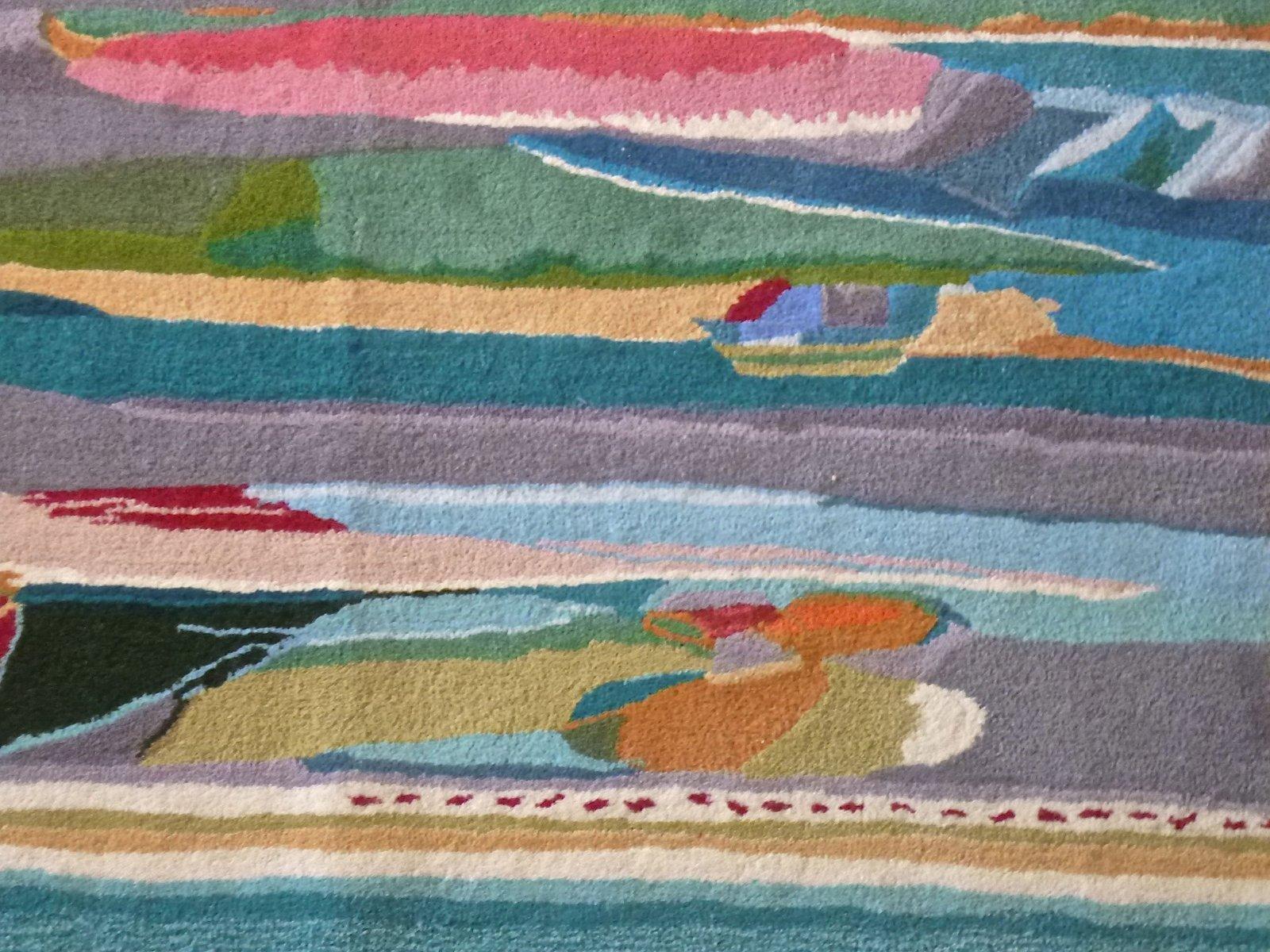 Teppich von Professor Ernst Oberhoff für Ewald Kröner