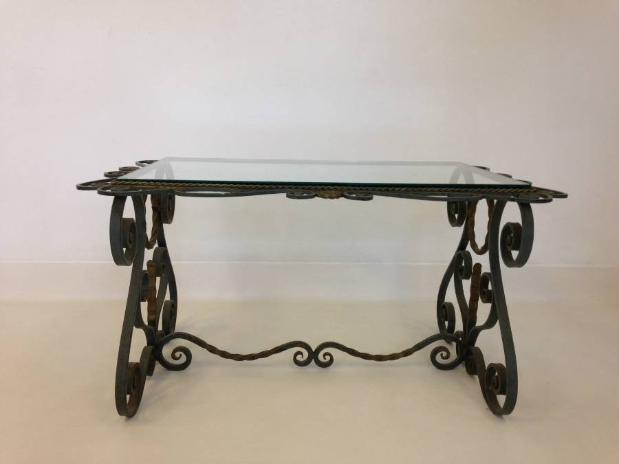 Vintage Iron Table 48