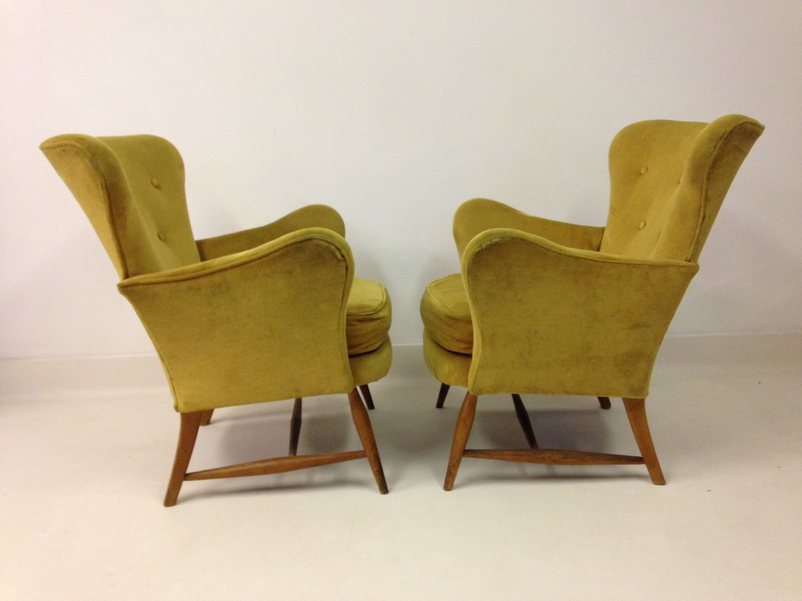 Vintage armchairs from ercol 1950s set of 2 for sale at for 2 armchairs for sale