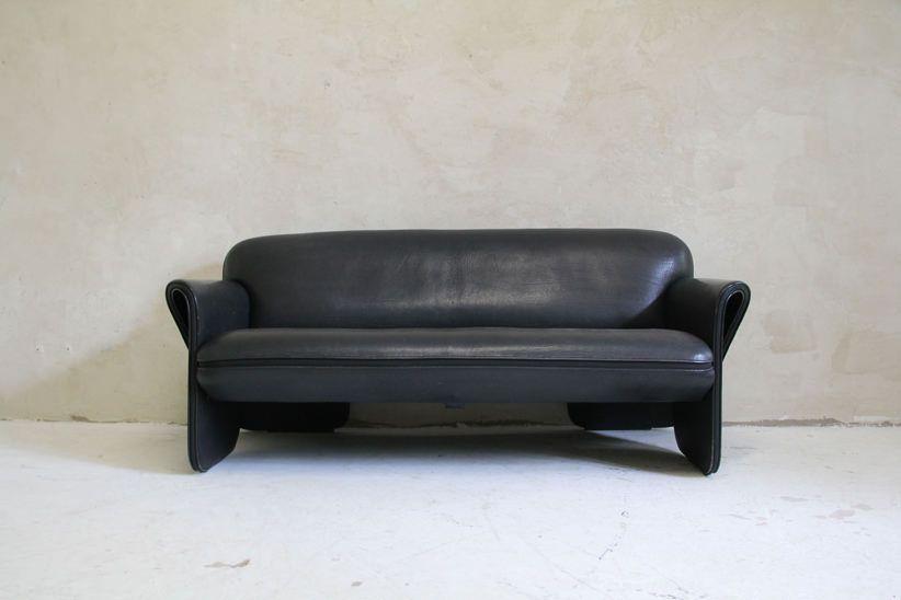 ds 125 leather sofa by gerd lange for de sede 1980s for. Black Bedroom Furniture Sets. Home Design Ideas