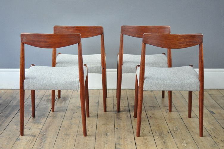 Vintage Dining Chairs Set Of 4 For Sale At Pamono