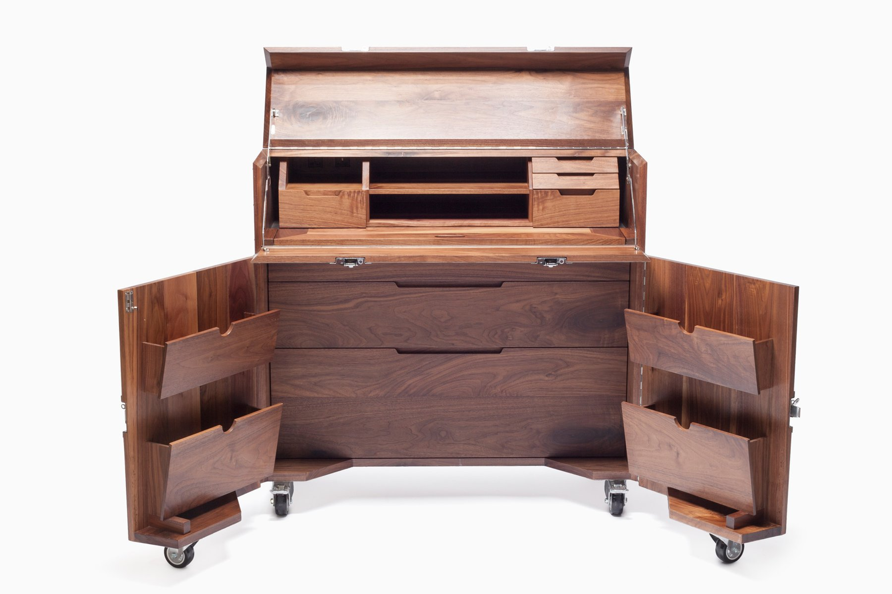 bureau caisse the crates par naihan li en vente sur pamono. Black Bedroom Furniture Sets. Home Design Ideas