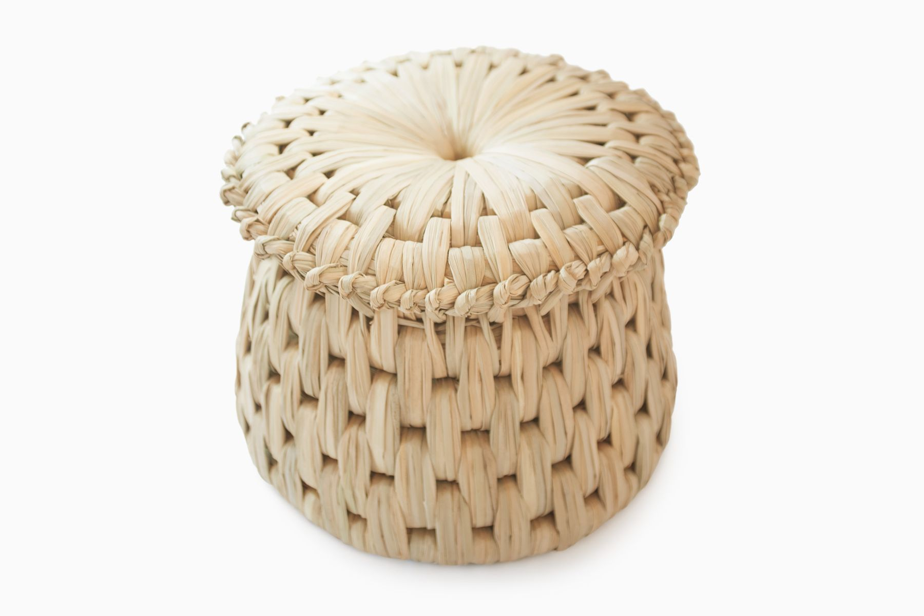 Tule Woven Tabouret for sale at Pamono