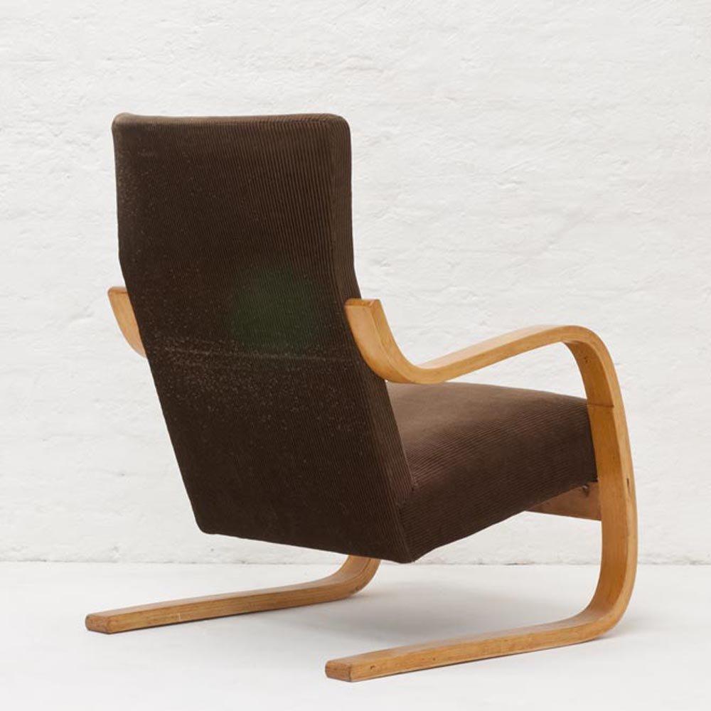 A36 lounge chair by alvar aalto for finmar artek 1933 for for Alvar aalto chaise