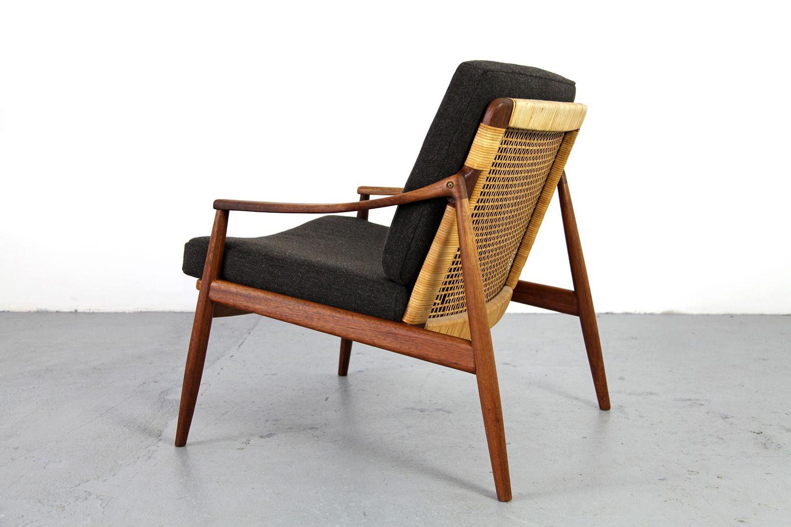 teak sessel von harmut lohmeyer f r wilkhahn bei pamono kaufen. Black Bedroom Furniture Sets. Home Design Ideas