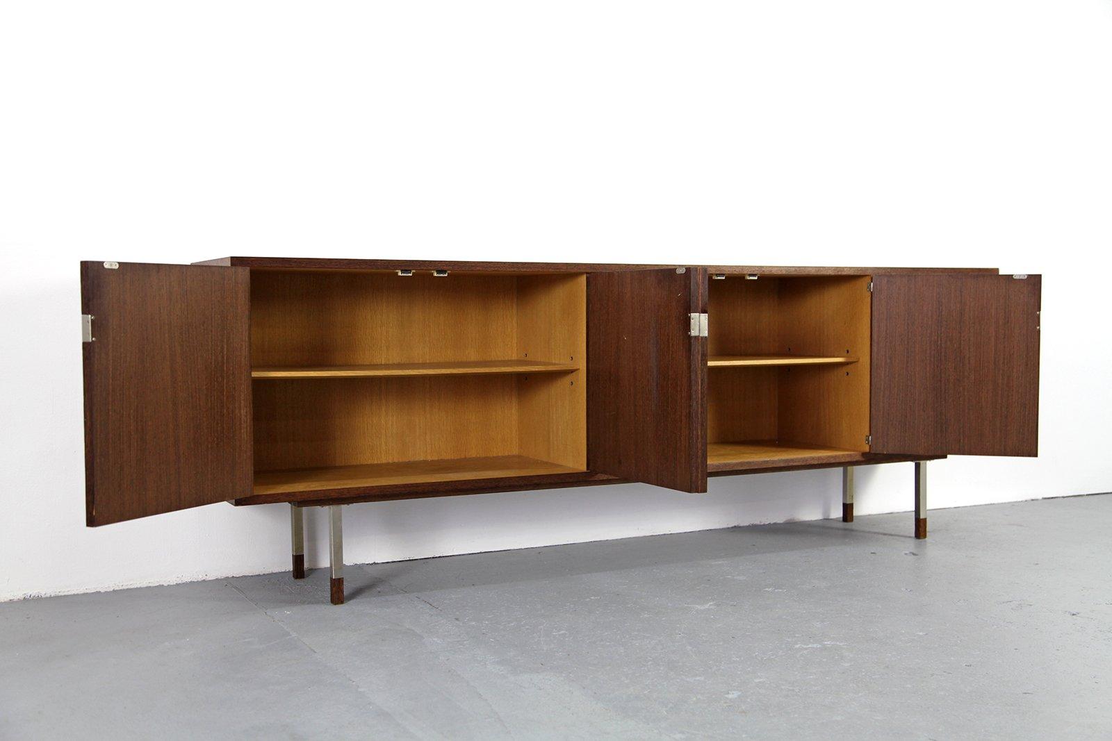 vintage sideboard aus wenge und eiche 1960er bei pamono kaufen. Black Bedroom Furniture Sets. Home Design Ideas