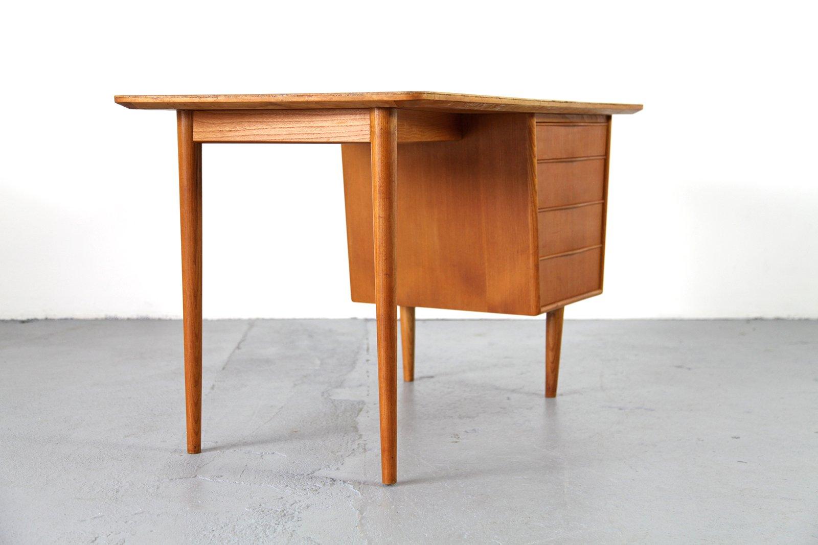 small desk modern small vintage desk modern teak at 1stdibs