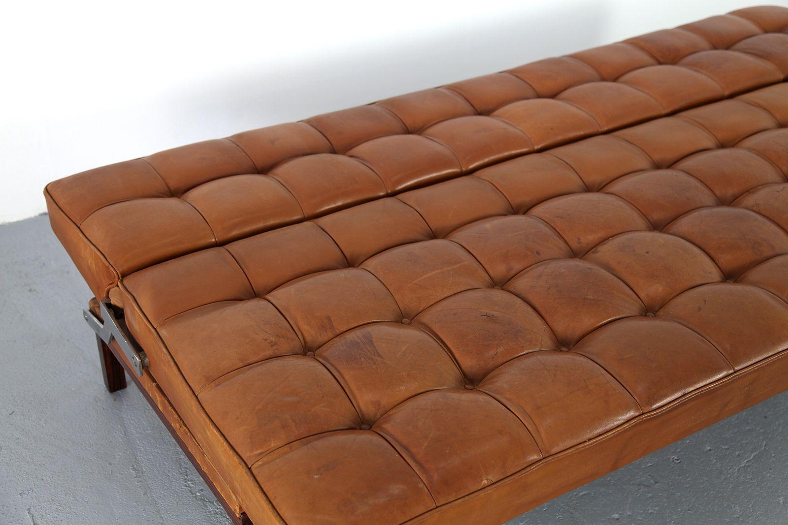 leder sofa constanze von johannes spalt f r wittman 1961 bei pamono kaufen. Black Bedroom Furniture Sets. Home Design Ideas