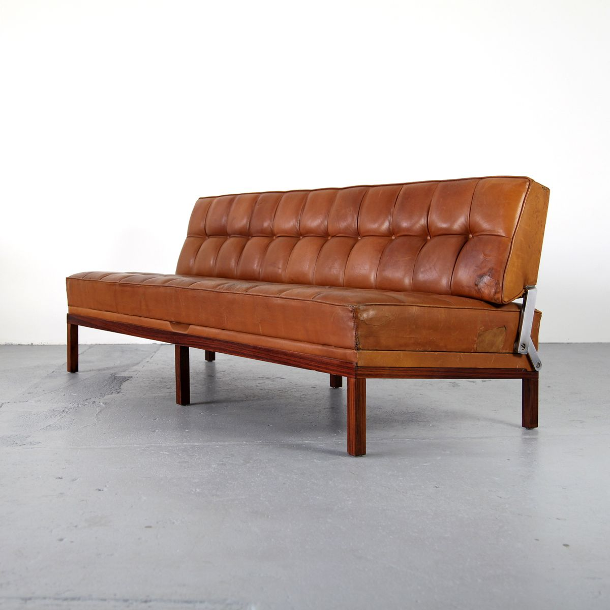 daybed sofa constanze by johannes spalt for wittman 1961. Black Bedroom Furniture Sets. Home Design Ideas