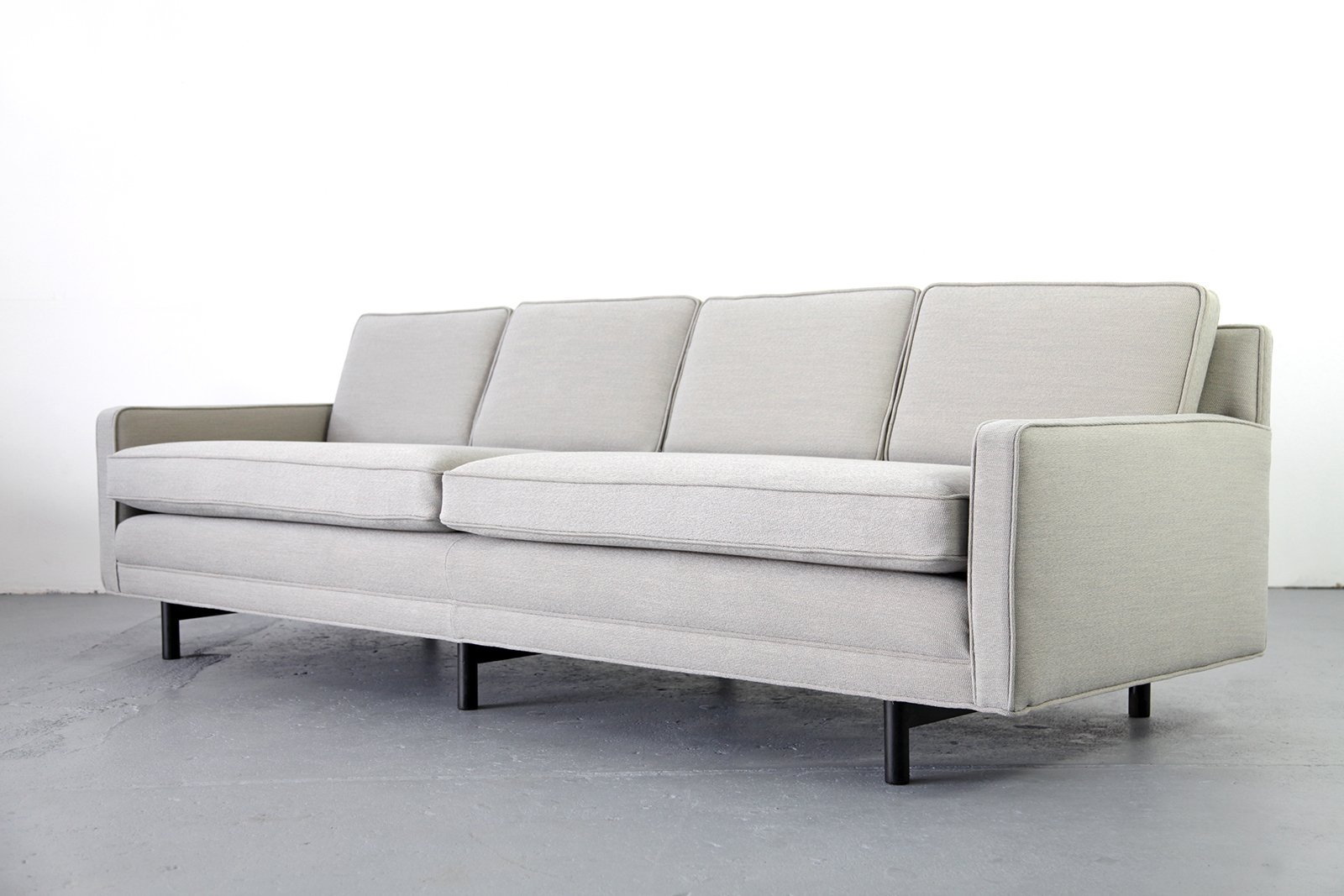 4 seater sofa by paul mccobb for directional for sale at for Sofa 75 cm tief