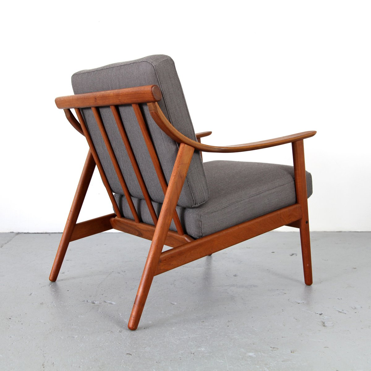 Danish modern lounge chair 1960 for sale at pamono for Stylish lounge