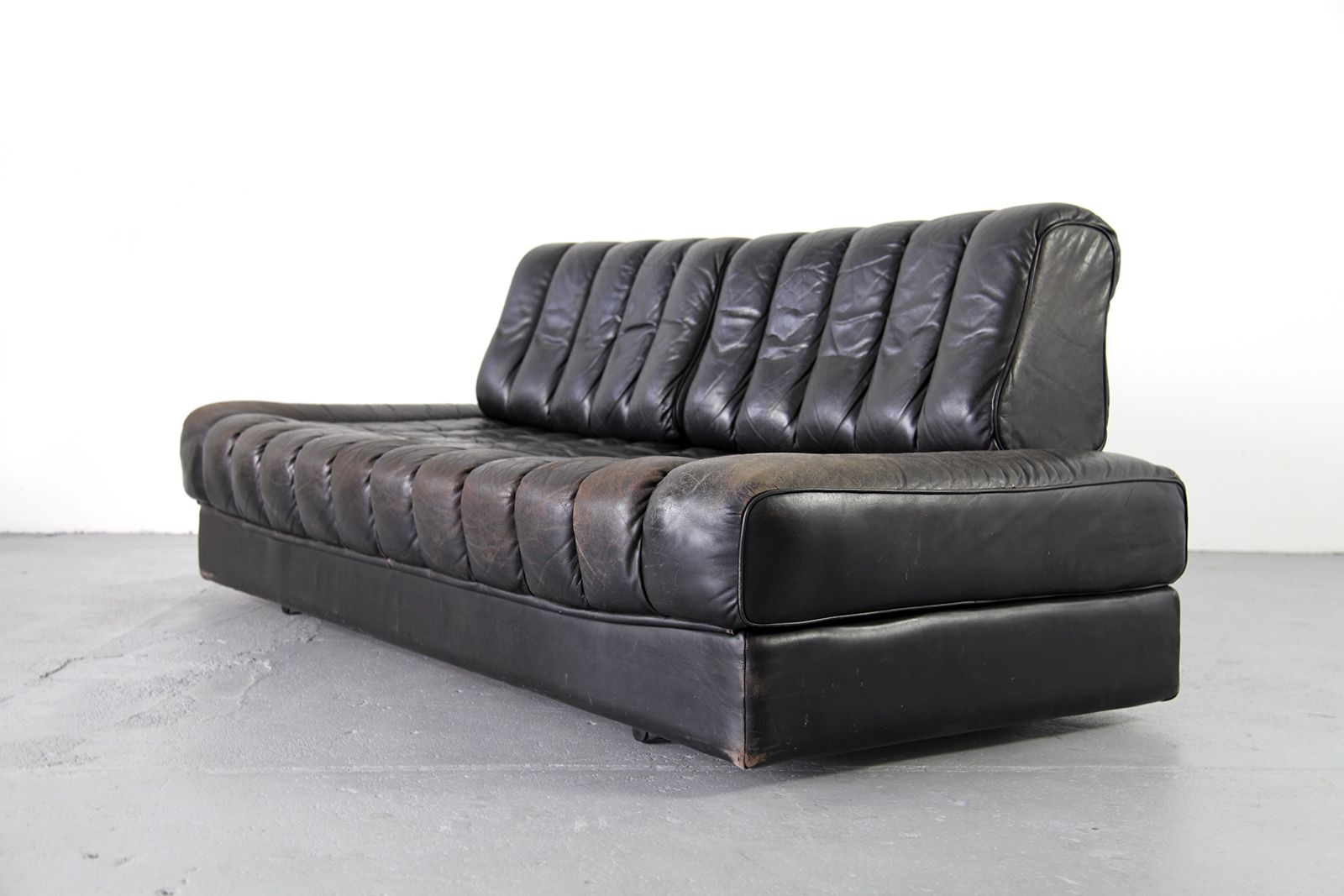 schlafsofa ds 85 von de sede 1960s bei pamono kaufen. Black Bedroom Furniture Sets. Home Design Ideas