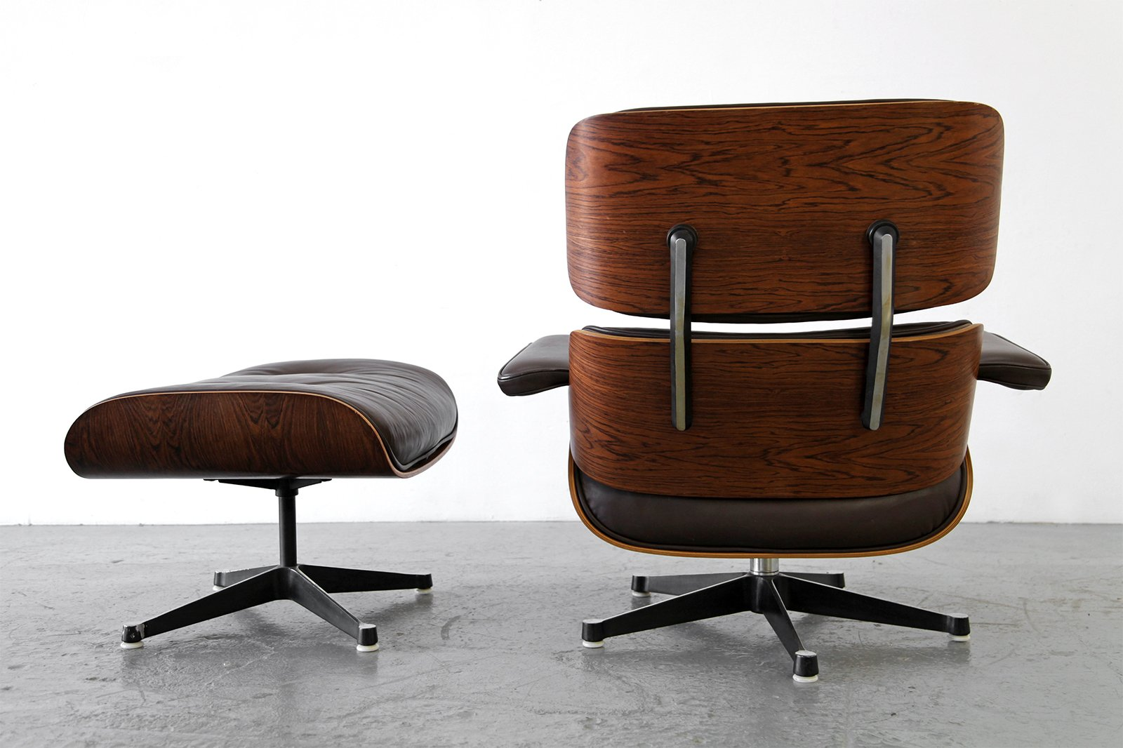 Lounge Chair and Ottoman by Ray & Charles Eames for