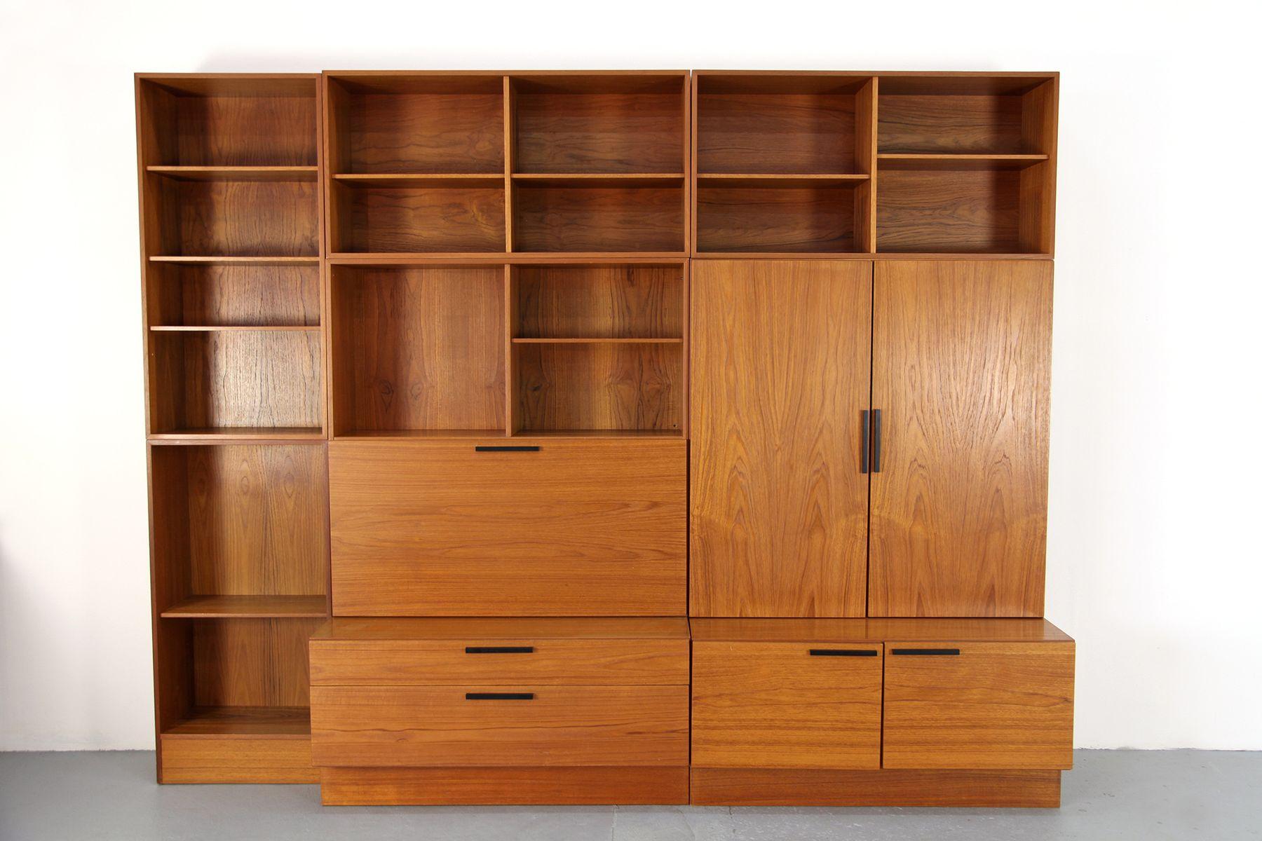 modulares regalsystem von ib kofod larsen f r faarup. Black Bedroom Furniture Sets. Home Design Ideas