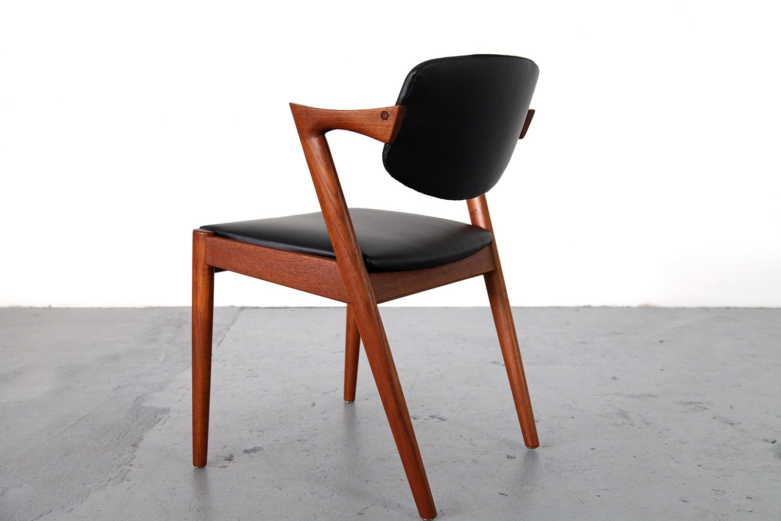 Teak Chairs By Kai Kristiansen For Sva M Bler Set Of 4 For Sale At Pamono